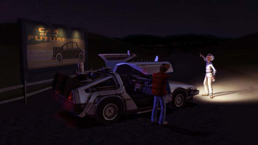 Back to the Future: The Game Review - Screenshot 1 of 4