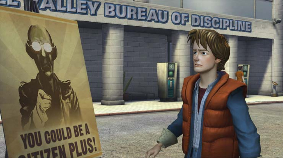 Back to the Future: The Game Review - Screenshot 4 of 4