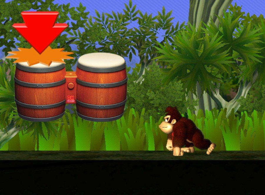 Donkey Kong Jungle Beat Screenshot