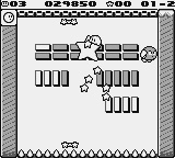 Kirby's Block Ball Screenshot