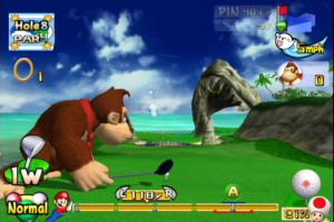 Mario Golf: Toadstool Tour Screenshot