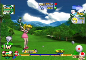 Mario Golf: Toadstool Tour Review - Screenshot 4 of 4