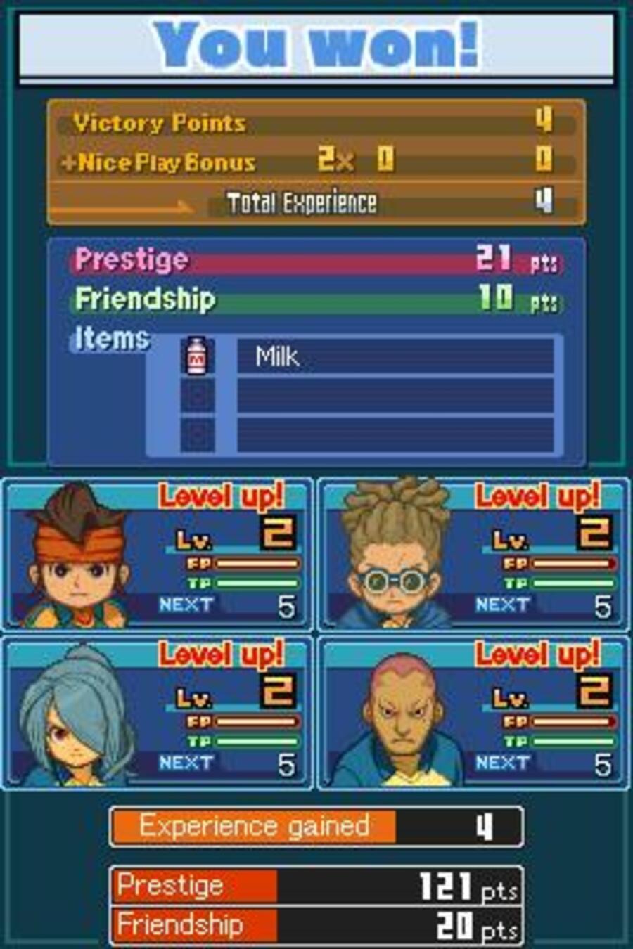 Inazuma Eleven 2 Firestorm Screenshot