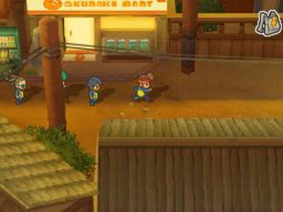 Inazuma Eleven 2 Blizzard Screenshot
