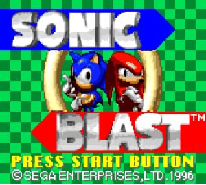 Sonic Blast Review - Screenshot 2 of 3