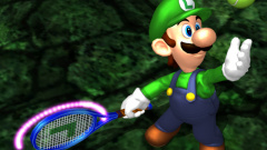 Mario Power Tennis Screenshot