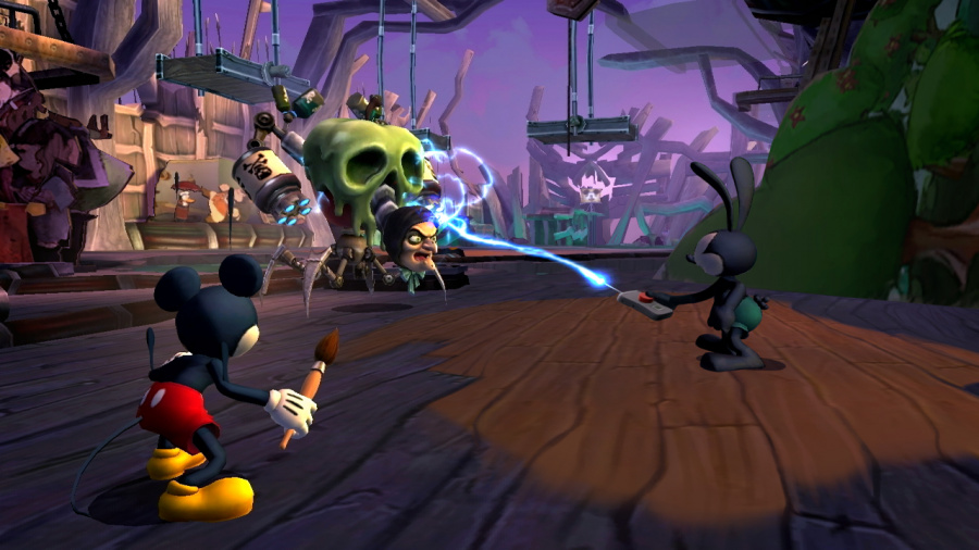 Disney Epic Mickey 2: The Power of Two Review - Screenshot 2 of 5