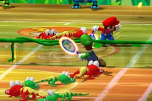 Mario Power Tennis Screenshot
