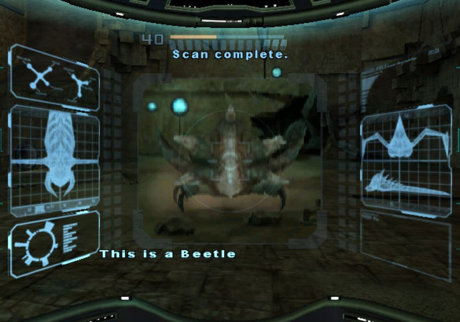 Metroid Prime Screenshot