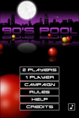 90's Pool Review - Screenshot 1 of 2