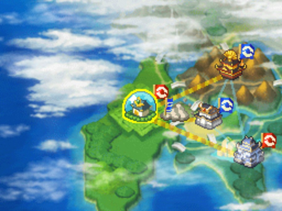Pokémon Conquest Screenshot