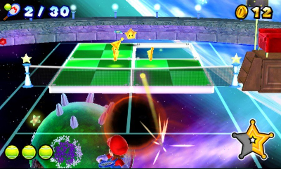 Mario Tennis Open Screenshot
