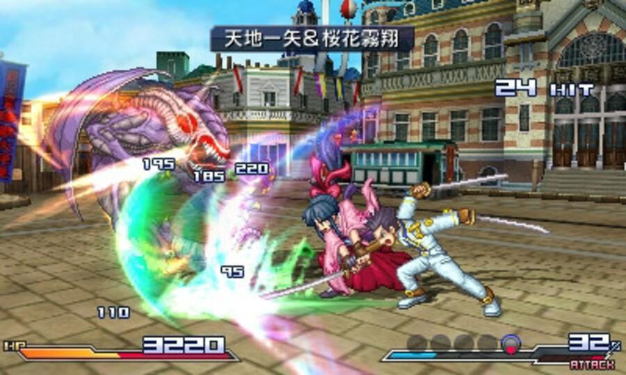 Project X Zone Screenshot