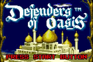Defenders of Oasis Screenshot