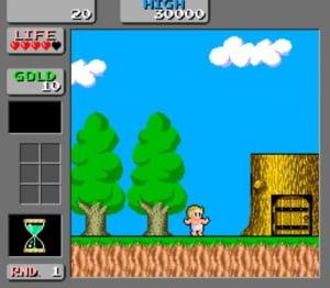 Wonder Boy in Monster Land Review - Screenshot 1 of 4