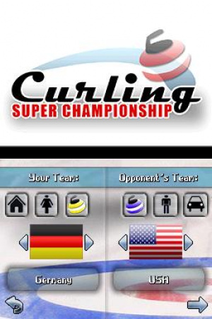 Curling Super Championship Review - Screenshot 1 of 2