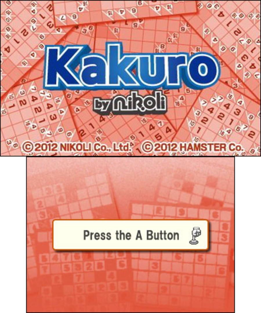 Kakuro by Nikoli Screenshot