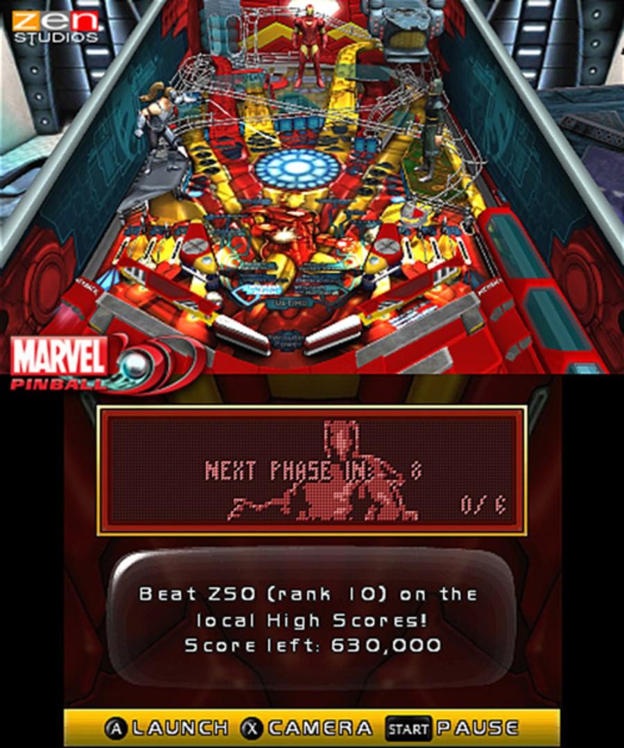 Marvel Pinball 3D Screenshot