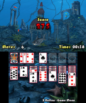 3D Solitaire Review - Screenshot 1 of 2