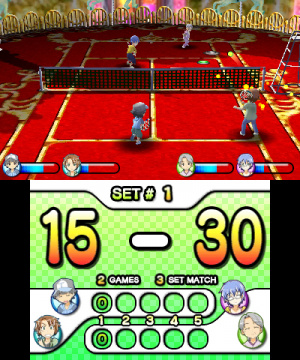 Family Tennis 3D Review - Screenshot 1 of 4