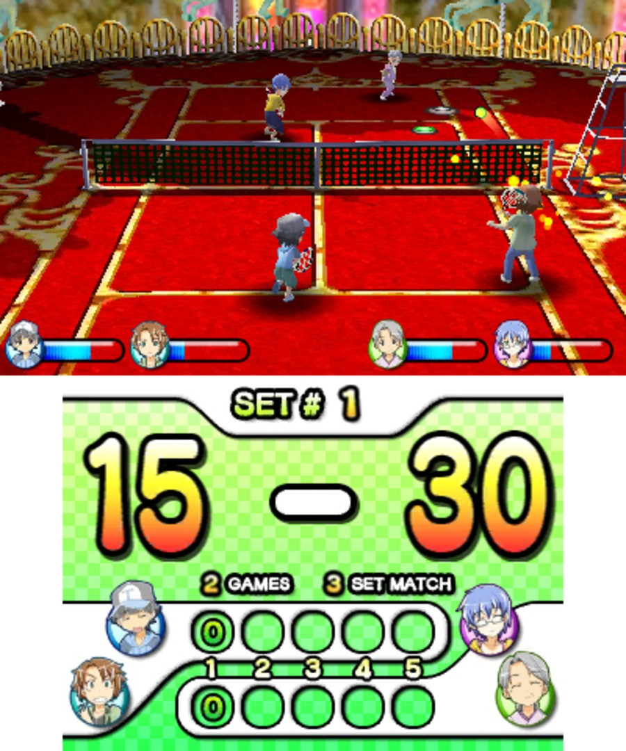 Family Tennis 3D Screenshot