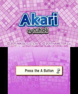 Akari by Nikoli Review - Screenshot 1 of 2