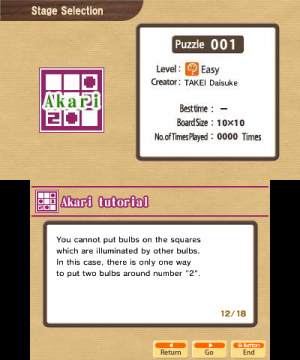 Akari by Nikoli Review - Screenshot 2 of 2