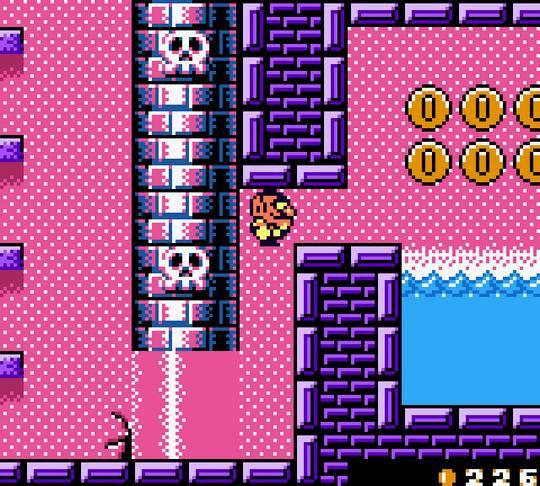 Wario Land II Screenshot