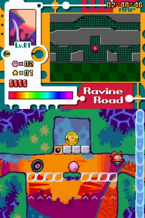 Kirby: Canvas Curse Review - Screenshot 2 of 3
