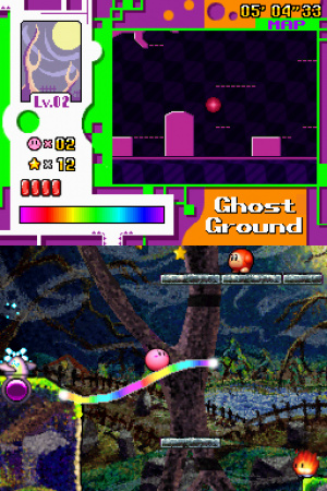 Kirby: Canvas Curse Review - Screenshot 2 of 4