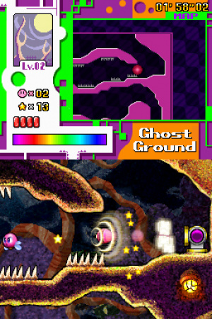 Kirby: Canvas Curse Review - Screenshot 3 of 4