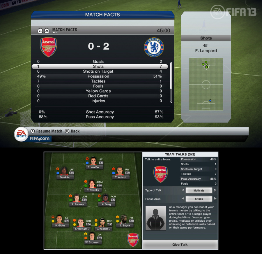 FIFA 13 Review - Screenshot 2 of 4