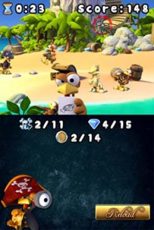 Crazy Chicken Pirates Review - Screenshot 1 of 2