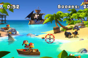 Crazy Chicken Pirates 3D Screenshot