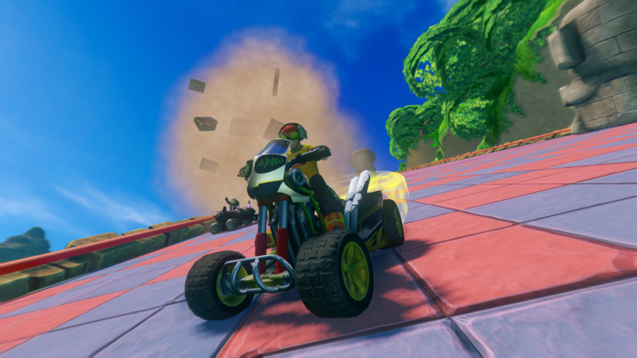 Sonic & All-Stars Racing Transformed Review - Screenshot 2 of 5