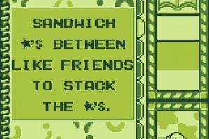 Kirby's Star Stacker Screenshot