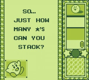 Kirby's Star Stacker Review - Screenshot 1 of 3