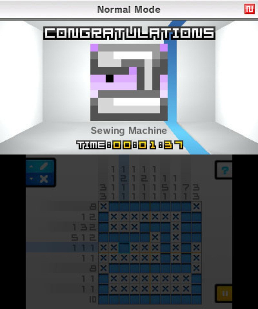 Picross e Screenshot
