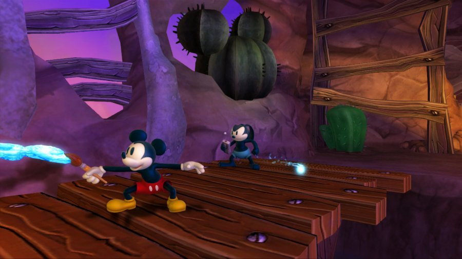 Disney Epic Mickey 2: The Power of Two Review - Screenshot 2 of 4