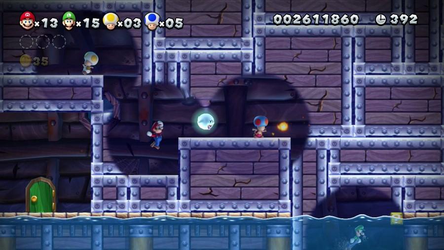 New Super Mario Bros. U Screenshot