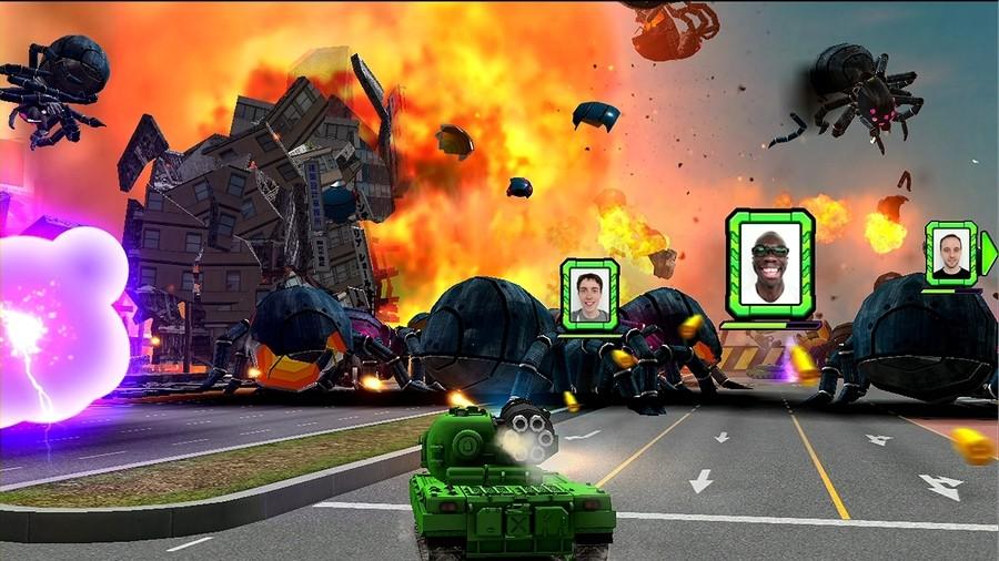 Tank! Tank! Tank! Screenshot