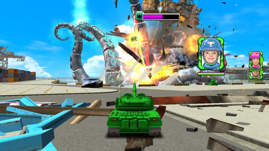 Tank! Tank! Tank! Review - Screenshot 2 of 4
