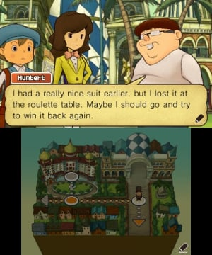 Professor Layton and the Miracle Mask Review - Screenshot 4 of 5