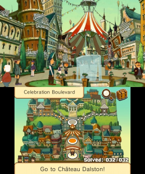 Professor Layton and the Miracle Mask Review - Screenshot 5 of 5