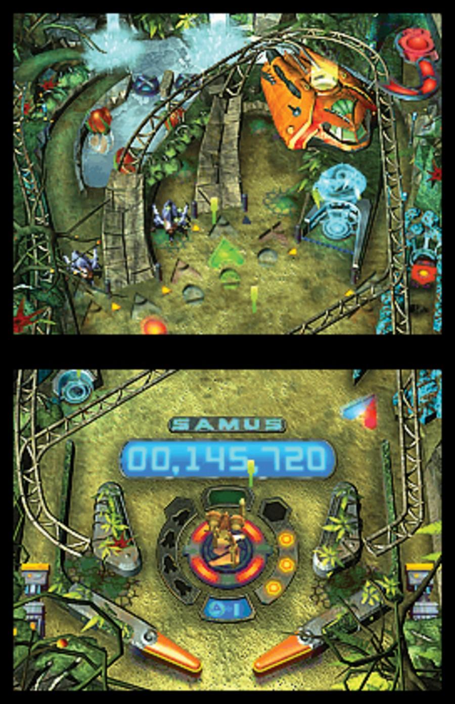 Metroid Prime Pinball Screenshot