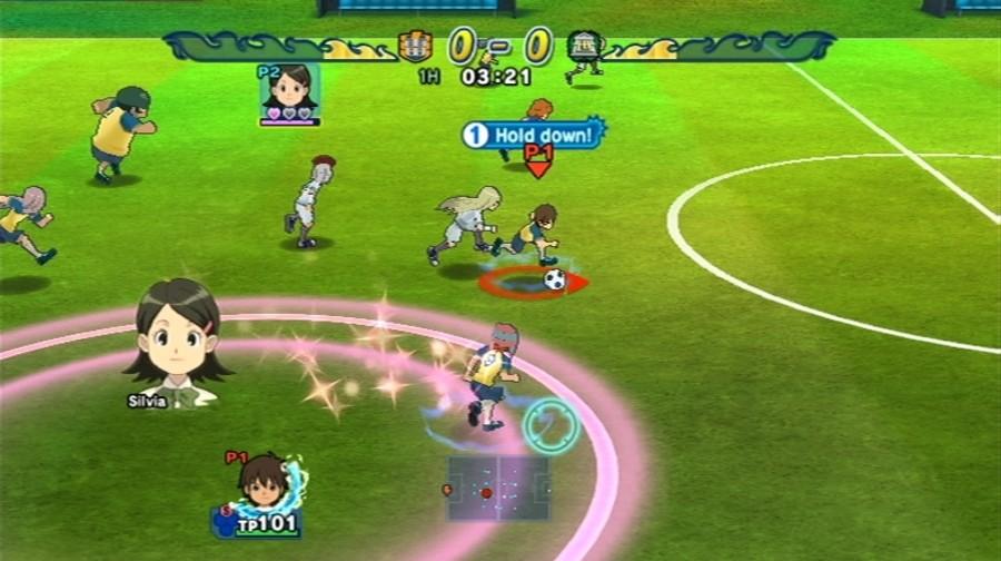 Inazuma Eleven Strikers Screenshot