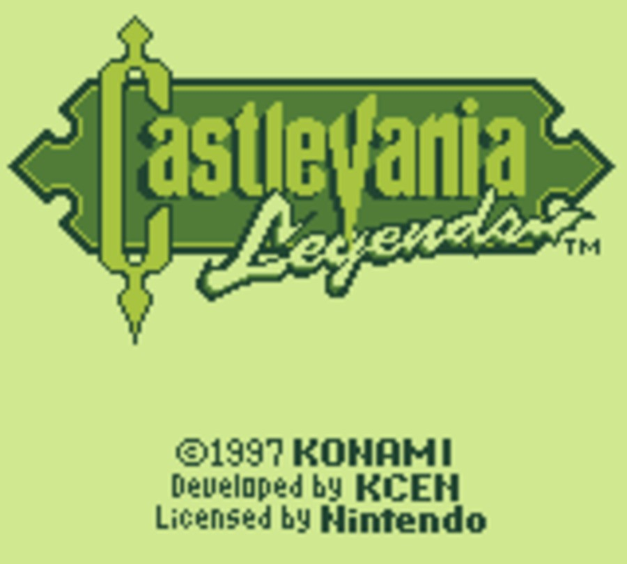 Castlevania Legends Screenshot