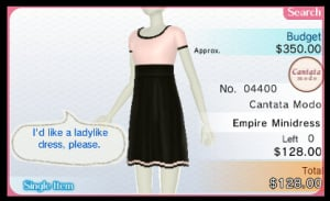 Nintendo presents: New Style Boutique Review - Screenshot 3 of 8