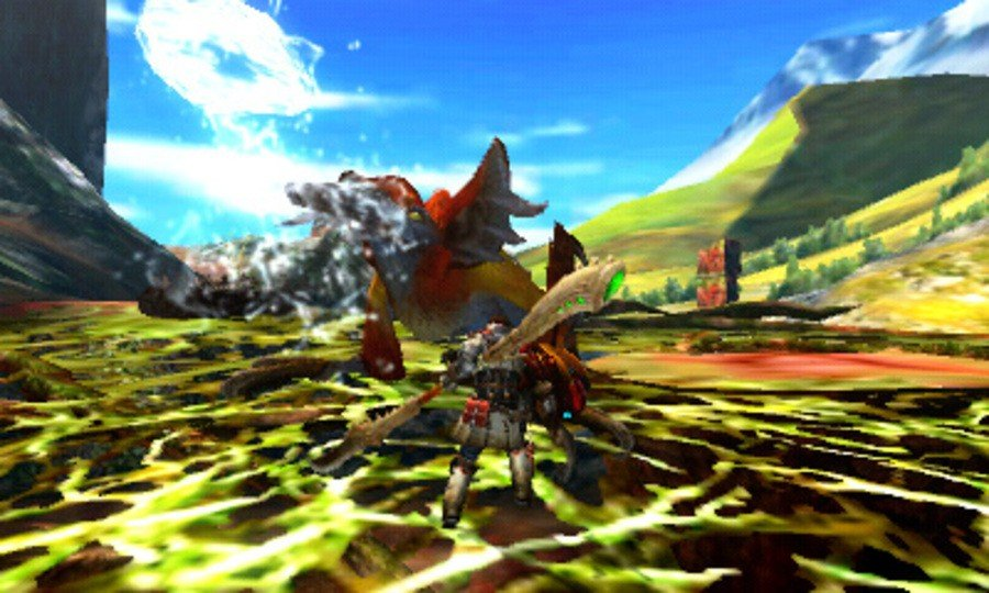 Monster Hunter 4 Screenshot