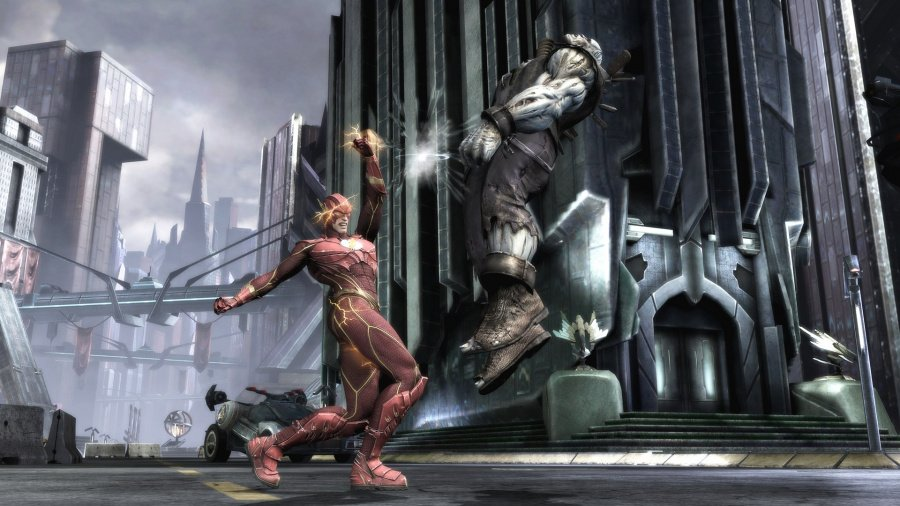 Injustice: Gods Among Us Review - Screenshot 3 of 6